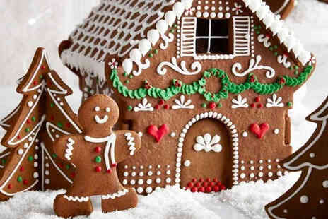 Britain Loves Baking - Gingerbread country cottage design bake and build box - Save 50%