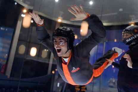 The Bear Grylls Adventure - 60 minute iFLY indoor skydiving experience and unlimited assault course access - Save 0%