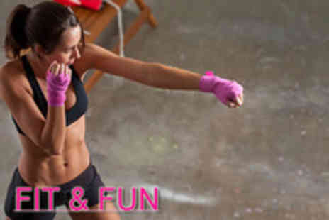 Fit & Fun - seven 60 minute self defence fitness classes - Save 77%