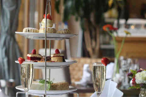 Shendish Manor Hotel - Sparkling afternoon tea for two with a glass of Prosecco each - Save 43%
