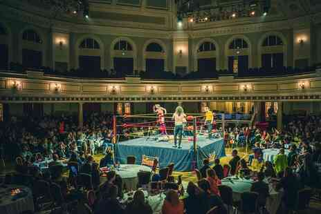 Megaslam Wrestling - Ticket to see live American wrestling - Save 43%