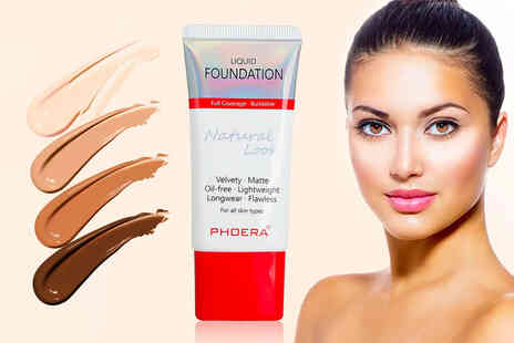 Forever Cosmetics - Phoera velvety matte liquid foundation - Save 75%
