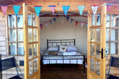 Abels Harp - A Shropshire glamping stay for two people - Save 31%