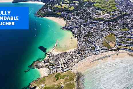 Northumbria Helicopters Limited - Cornwall land, sea & air package including cream tea for 2 - Save 35%