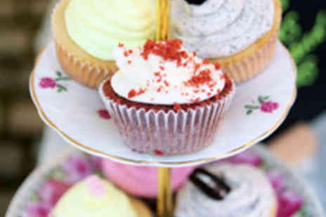 The Tea House - 12 Cupcakes - Save 57%