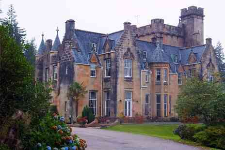 Stonefield Castle Hotel - A Loch Fyne stay Hotel for two with a garden view room, breakfast - Save 48%