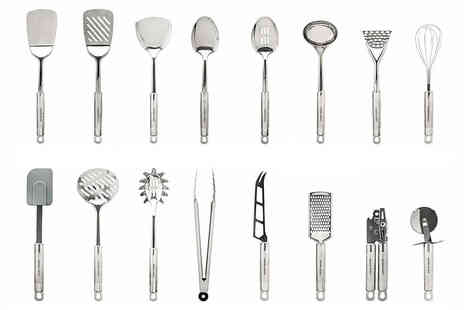 Vivo Mounts - 29 piece stainless steel cooking utensil set - Save 0%