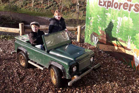 Virgin Experience Days - Little Learners Off Road Driving Experience - Save %
