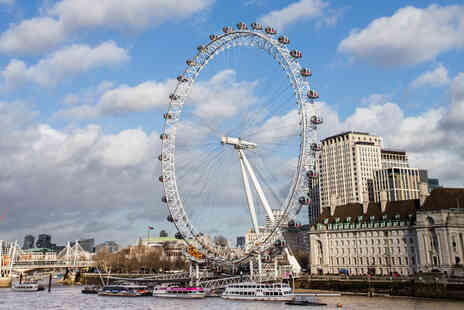 Gordon Ramsays Street Pizza  - Visit to the London Eye and Bottomless Pizza - Save 0%