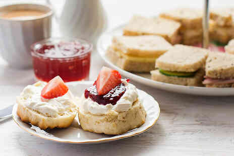 Gorse Hill City Farm - An afternoon tea for two - Save 40%