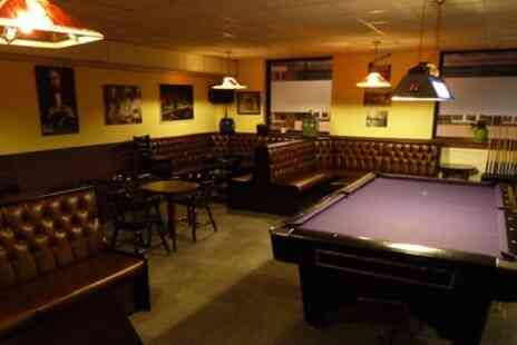 Cousins Snooker & Pool Club - Two Hours of Pool or Snooker, Beer and a Membership - Save 55%