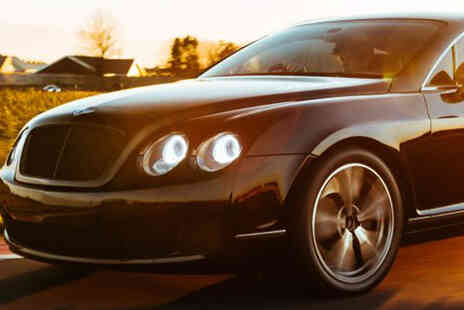 Drift Limits - 8 lap Bentley Continental GT driving experience - Save 50%