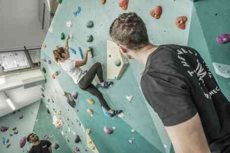 The Nest Climbing - Indoor Climbing with Introduction for One or Two - Save 50%