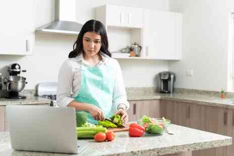 The Smart School of Cookery - One hour diet cooking sessions online for one person - Save 0%