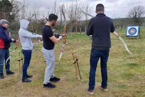 Moving Mountains Outdoor Skills Education - Two Hour Archery and Axe Throwing for Two or Four - Save 20%