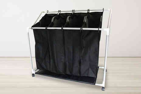 Who Needs Shops - Laundry sorter trolley - Save 73%
