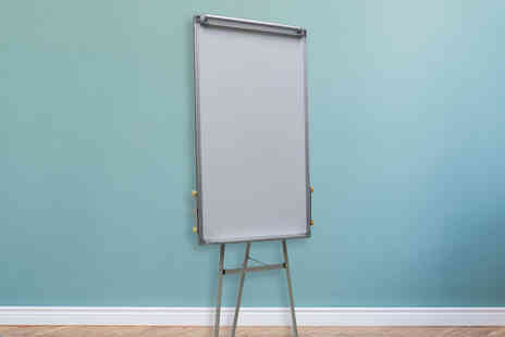 Who Needs Shops - A1 magnetic easel whiteboard - Save 75%