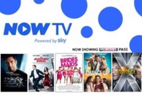 Now TV - Four Month Unlimited Online Sky Movies Subscription - Save 56%