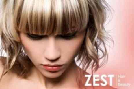 Zest Hair and Beauty - Cut, Conditioning Treatment and Blow Dry - Save 50%