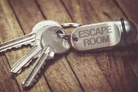 Escape Rooms - 60 Minute Virtual Escape Game for Up to 12 - Save 53%