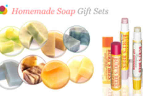 Camden Soap Works - Handmade Soap Gift Sets with Lip Shimmer - Save 55%