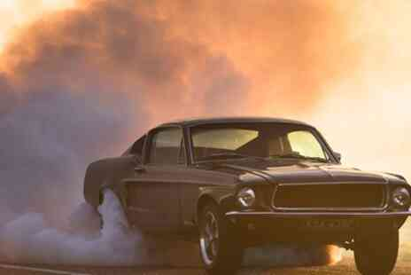 Drift Limits - 8 or 12 Lap 1968 Ford Bullitt Mustang Driving Experience - Save 50%