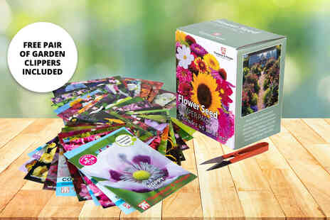 Thompson & Morgan - 40 pack collection of flower seeds - Save 50%