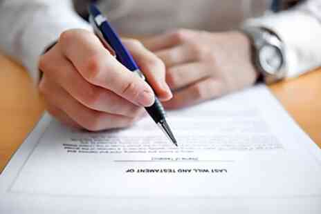PJA Wills - Single or Mirror Will Writing Service - Save 88%