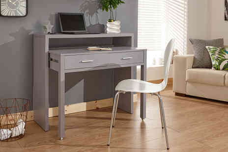 Wowcher Direct - Brooklyn extending console table - Save 49%