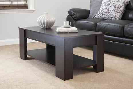 Wowcher Direct - Lift top Ancona coffee table - Save 49%