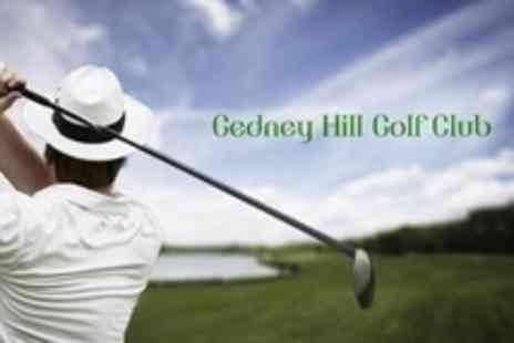Gedney Hill Golf Club - 18 Holes of Golf For Two People - Save 53%