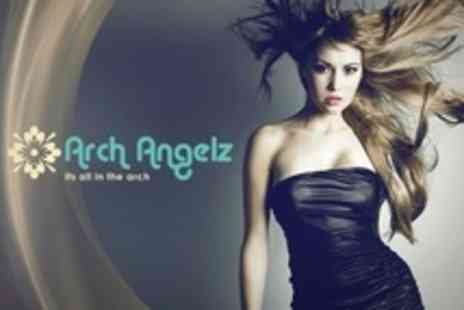 Arch Angelz - Choice of Hair Style Plus Nail File, Shape and Essie Polish for One - Save 57%