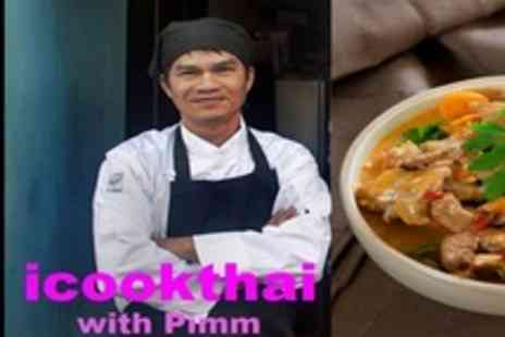 i Cook Thai - Three Hour Thai Cooking Masterclass With Cardiffs Premier Thai Chef - Save 71%