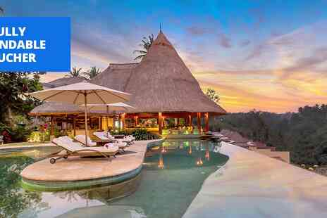 Viceroy Bali - Five star Ubud jungle resort Five Nights stay with meals - Save 0%