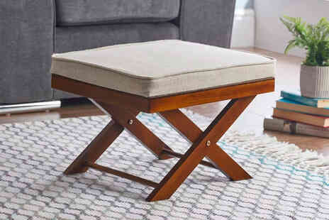 Gablemere - Cross Leg Footstool - Save 0%