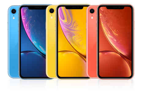 Affordable Mobiles - iPhone XR 64GB when you sign up to 24 month EE Essential Plan with 25GB data unlimited mins and unlimited texts - Save 0%