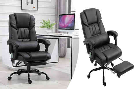 Mhstar Uk - Faux leather massage office chair - Save 47%