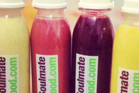 Soulmatefood - Three Day Juice Cleans Programme - Save 61%