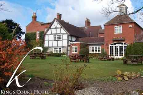 Kings Court Hotel - Two Night Stay for Two with Wine on Arrival and Breakfast - Save 64%