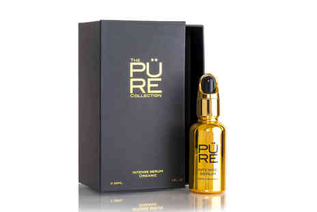 The Pure Collection - 10ml bottle of 100% organic intense oil blend serum - Save 0%