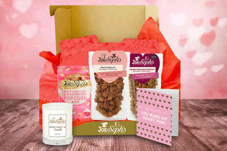 Joe & Seph - Valentines gourmet gift bundle hamper including two sharing bags of popcorn - Save 29%