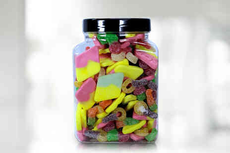 Posted Sweets - 1.5kg vegetarian sweets jar - Save 0%