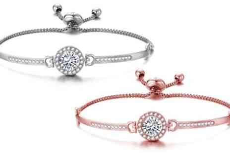 Groupon Goods Global GmbH - Philip Jones Bracelets with Crystals from Swarovski - Save 66%