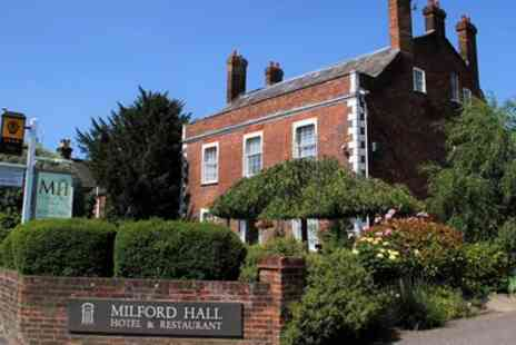 Milford Hall & Spa - Double or Twin Room for Two with Breakfast - Save 0%