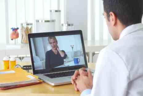 London Health Hub - 15 Minute Online Physiotherapy Consultations - Save 76%