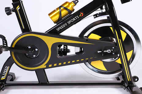 Furnishings Outlet - 8kg or 10kg Spin Bike Workout Machine - Save 68%