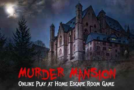 Elgin Escape - Murder Mansion Virtual Escape Room Game for Up to Six - Save 35%