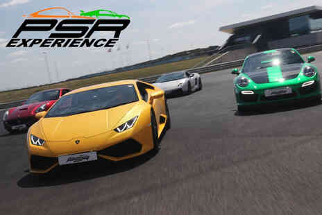 PSR Experience - Three lap driving experience for two in a sports car or muscle car - Save 0%