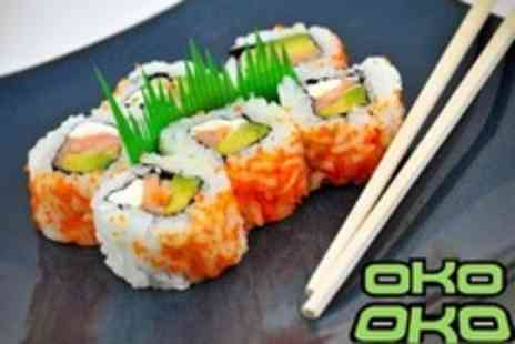 OKO - Two Sushi and Japanese Fare Courses For Two - Save 57%