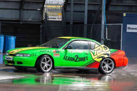 Learn2Drift - Half day car drifting experience with three passenger laps - Save 75%